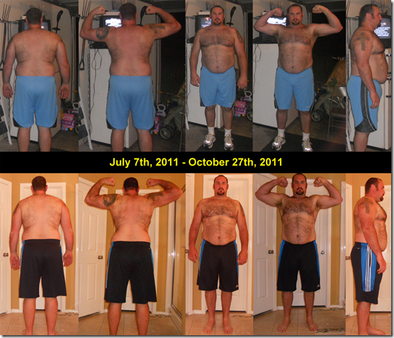 P90X - Composite - Day 0 - Day 93